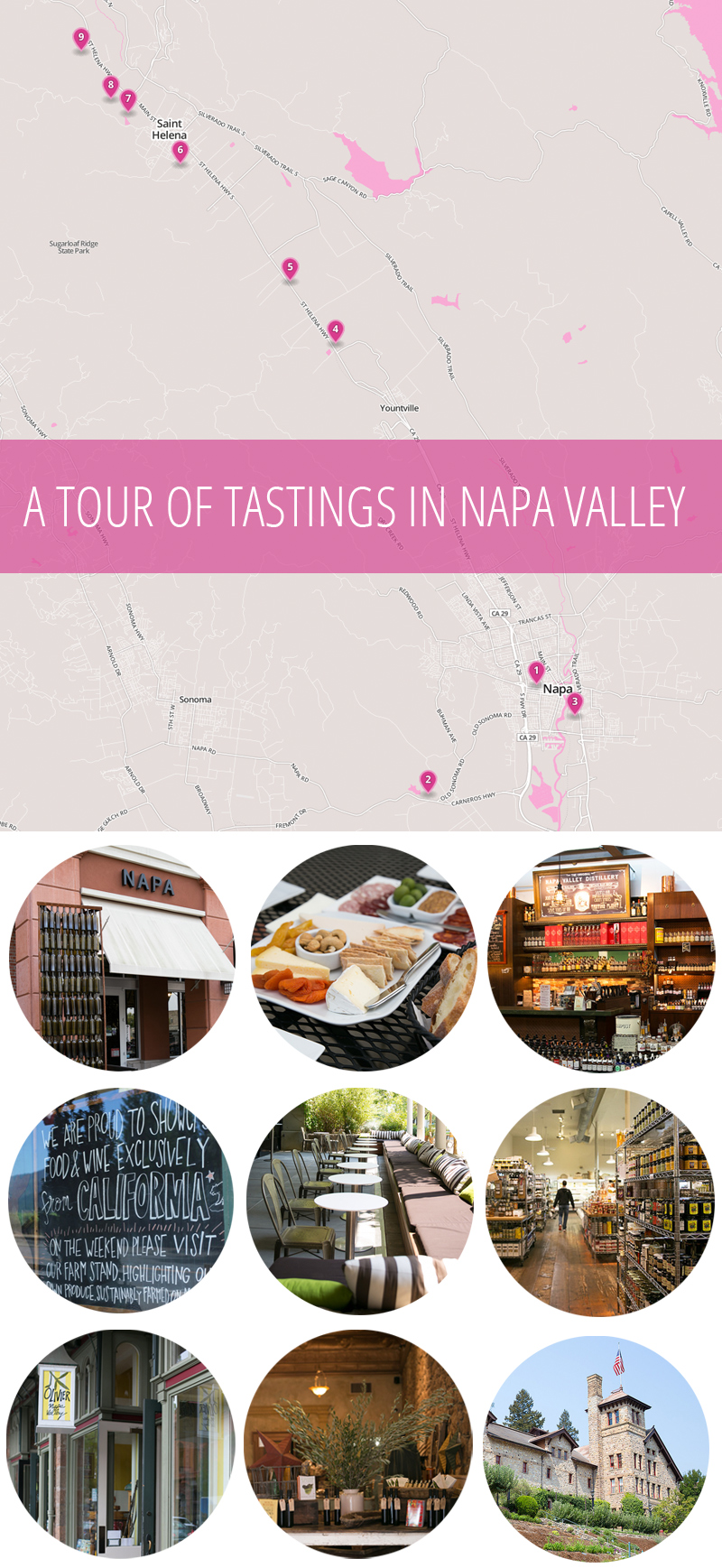 A Tour of Tastings of the Non-Wine Variety in Napa Valley