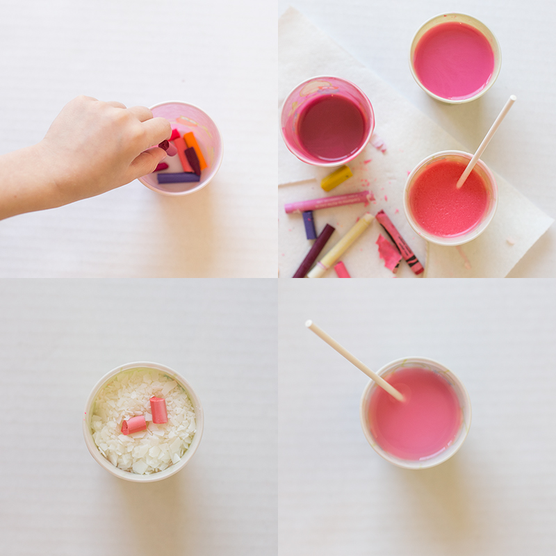 Create your own candles in any color you want with this simple crayon and soy wax candle tutorial.