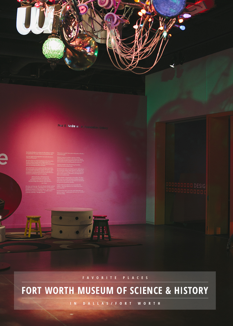 Visiting the Dallas / Fort Worth area? The Museum of Science & History is one of our absolute favorites. So many exhibits for children to explore ...
