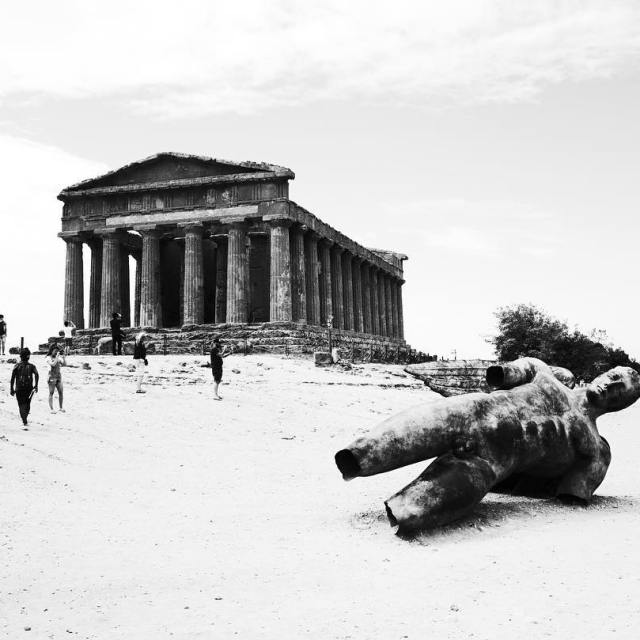 Sicily September 2016  Sicilia Temples BlackandWhite Edit 5 hellip