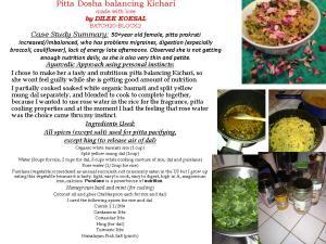 Pitta Dosha balancing Kichari