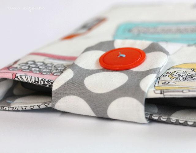 Nähanleitung: Kindle Hülle nähen | Tutorial | crafts idea & project | DIY | was eigenes Blog