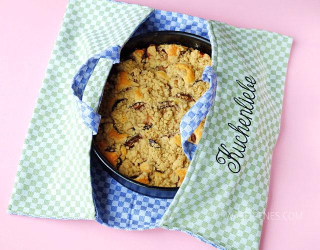 DIY Kuchentasche | Ich hab' mir eine Tasche zum Transport von Kuchen genäht!