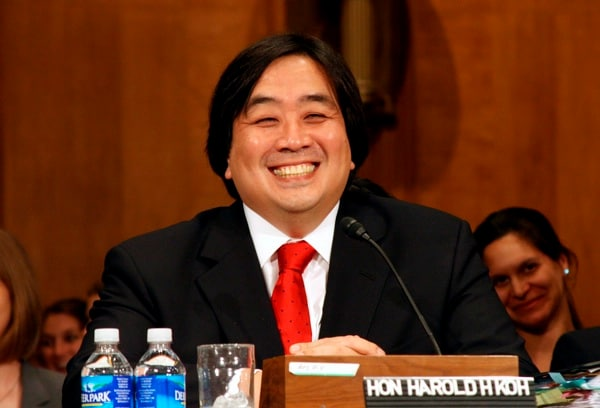 Harold Koh, formerly the State Department's Legal Adviser, was among the most involved parties in formulating the legal rationale for drones. (Zuma Press)