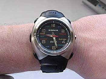 Review of the Xonix 256MB MP3 Watch - WatchReport.com