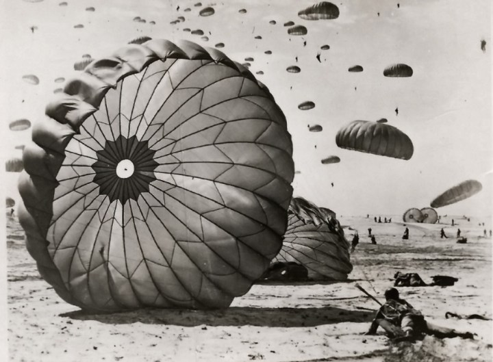 Fort Benning Paratrooper training official photographs taken by R.L. Throckmorton