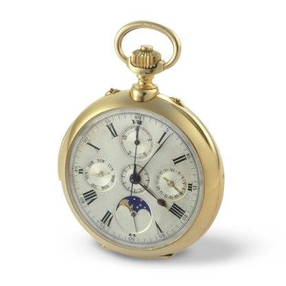 Montre de poche chronographe de 1909 Vacheron Constantin