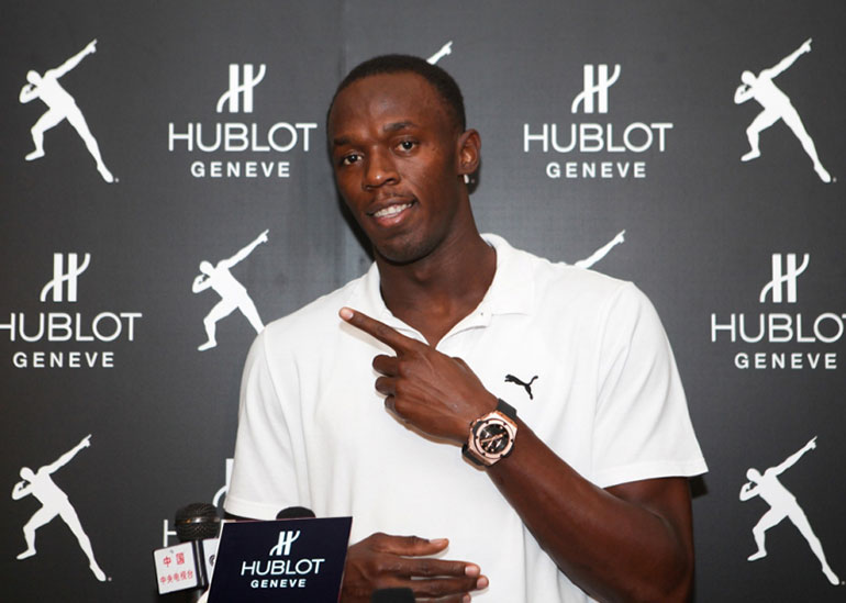 Usain Bolt - Hublot