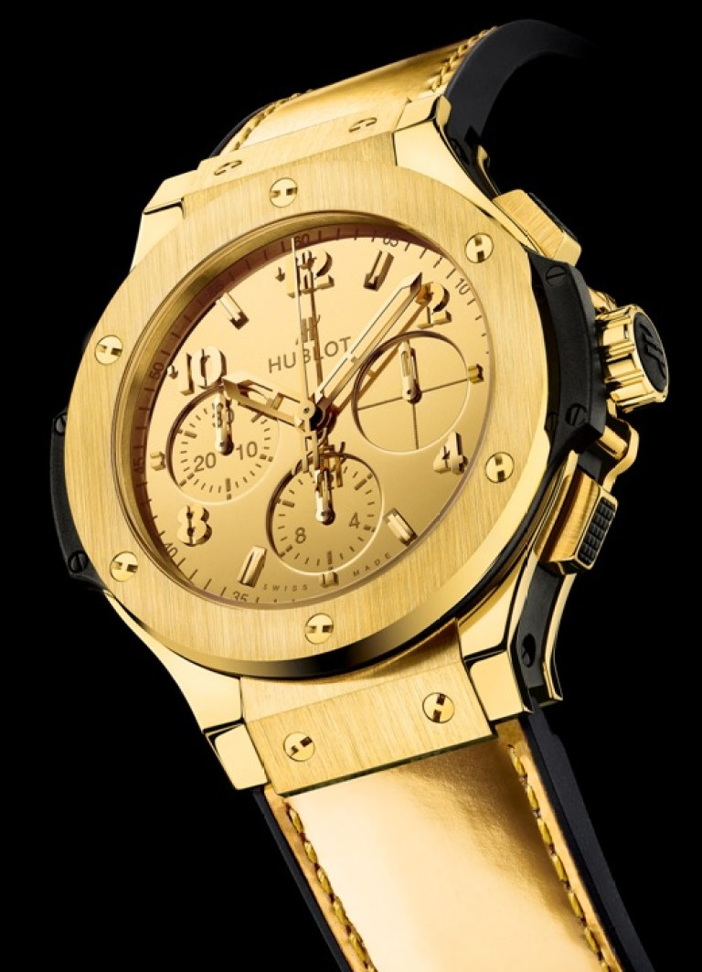 Hublot Big Bang Zegg & Cerlatti Yellow Gold-01