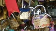 Les cadenas d'amour du pont des Arts