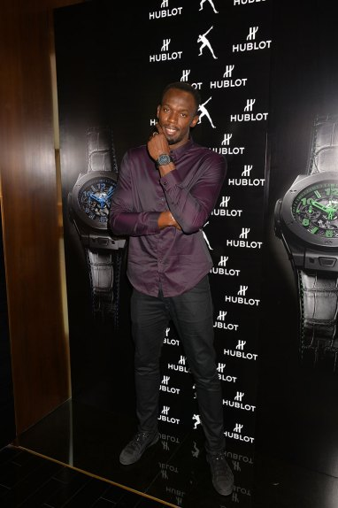 Usain Bolt Boutique Hublot Londres New Bond Street Big Bang