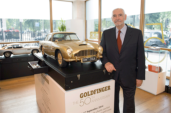 Goldfinger 50th Anniversary Aston Martin DB5