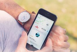 Activite Withings poignet avec applicaiton mobile