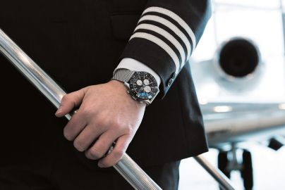 Breitling Chronoliner chronographe poignet comandant de bord