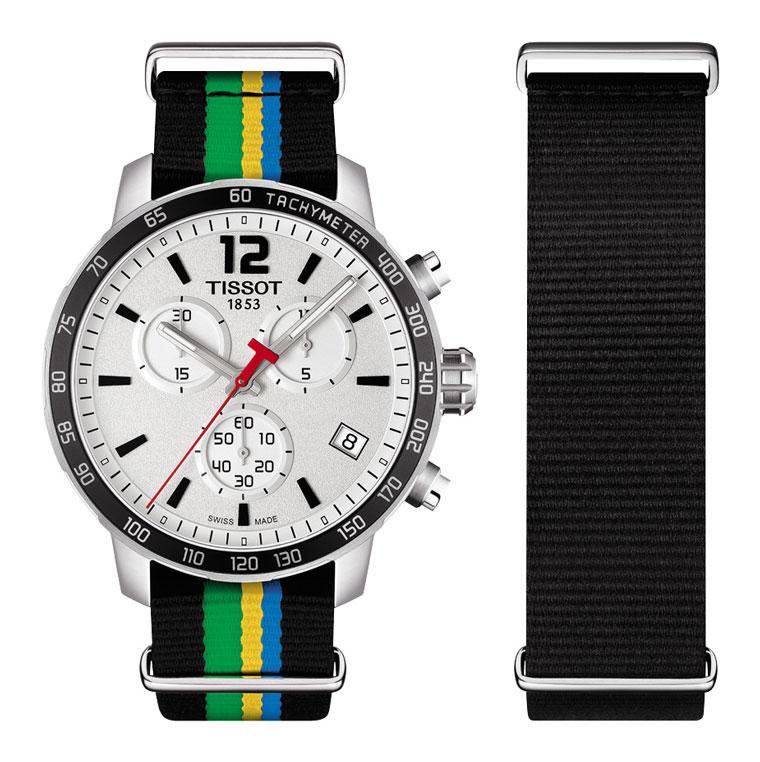 Tissot Quickster Baku Special Edition bracelet