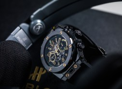 Hublot Big Bang UNICO Usain Bolt all black céramique