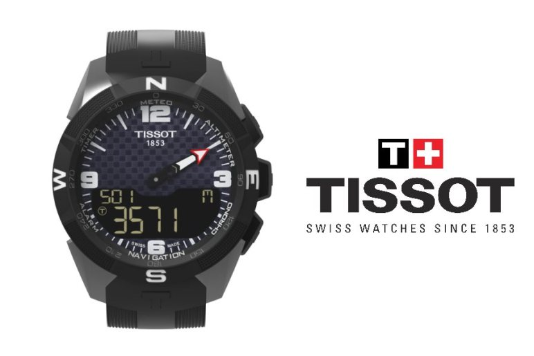 Tissot Smart Touch en gros plan