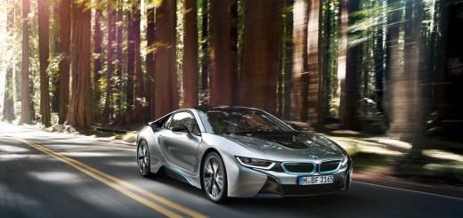 BMW i8, via BMW