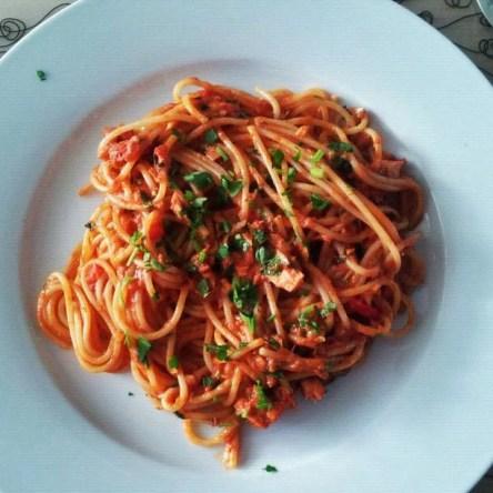 Jamie's Pasta Puttanesca - Watzijzegt.com