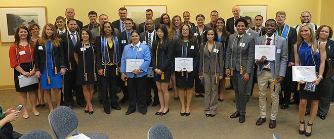 Beta Gamma Sigma chapter inducts 53 new members
