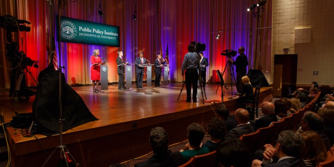 JU PPI, WJXT co-hosting crucial second round of live Mayoral and Sheriff debates