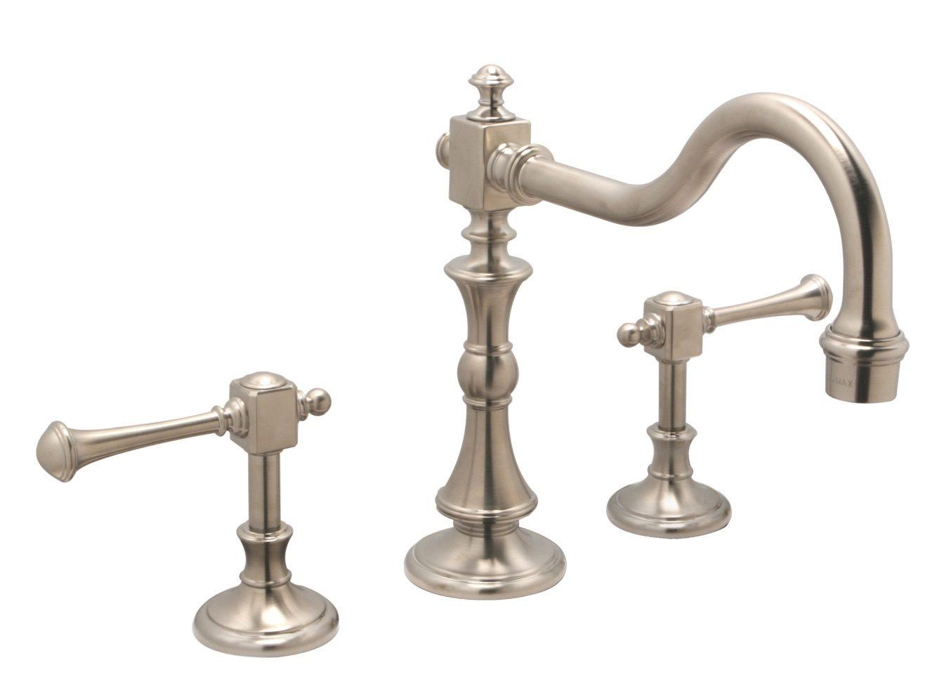widespread kitchen faucet widespread kitchen faucet Huntington Brass Kitchen Faucets Wave Plumbing