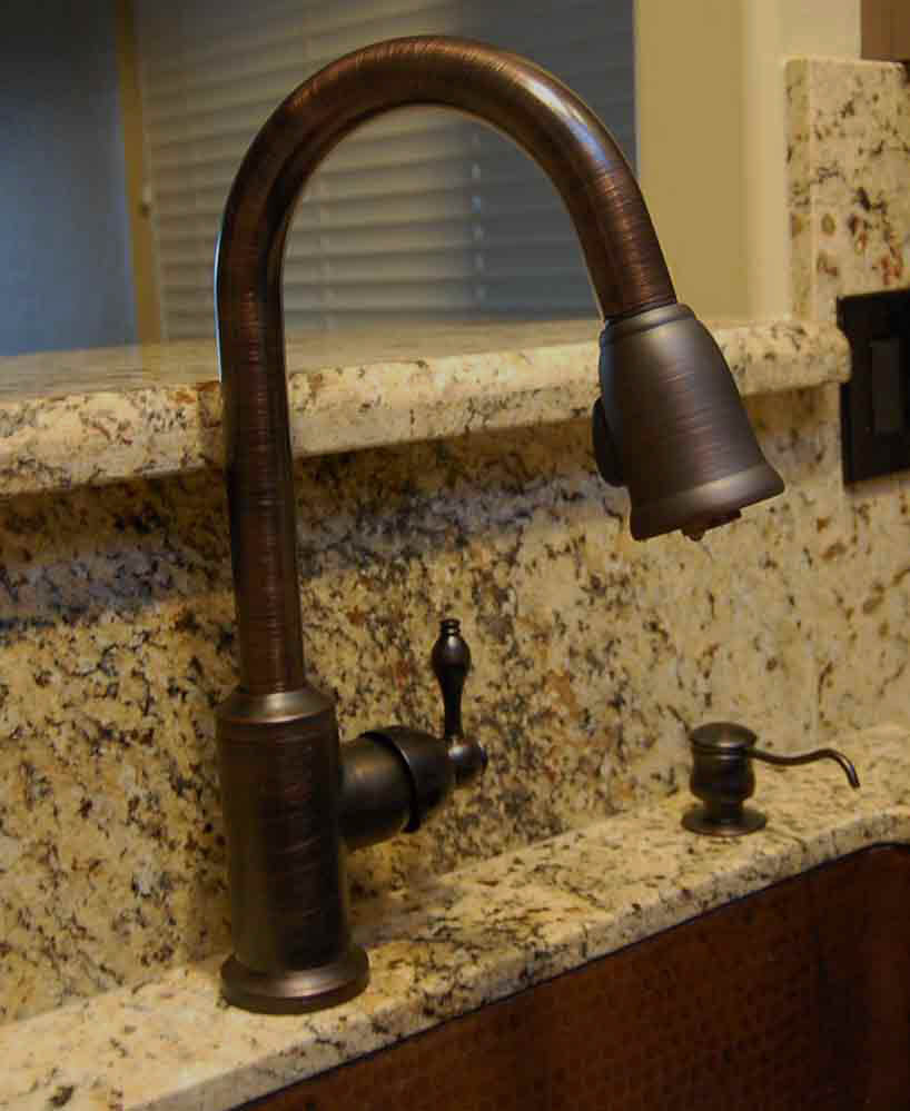 index copper kitchen faucets Premier Copper Kitchen Faucets K PD01ORB Pulldown Faucet
