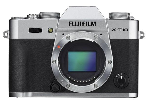 Fujifilm X-T10 Silver Body only