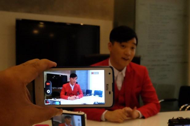 Recording video of the Ryan Bang Blogcon with my Kata F2