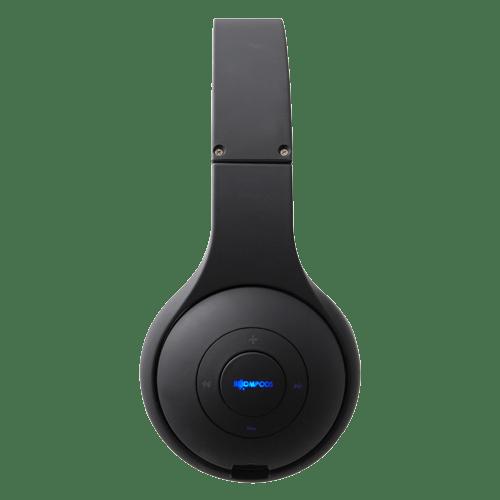 boompods wireless headpods headset-black