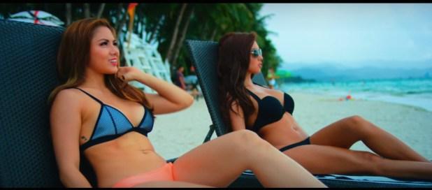 Ashley Rivera Roxee B oxygen j young music video boracay