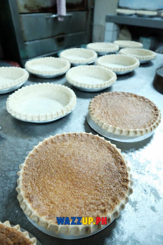Kamuning Bakery's famous Egg Pie