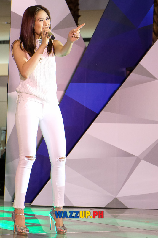 Sarah Geronimo at the OPPO Mirror 5 Launch A Spark of Brilliance-0215