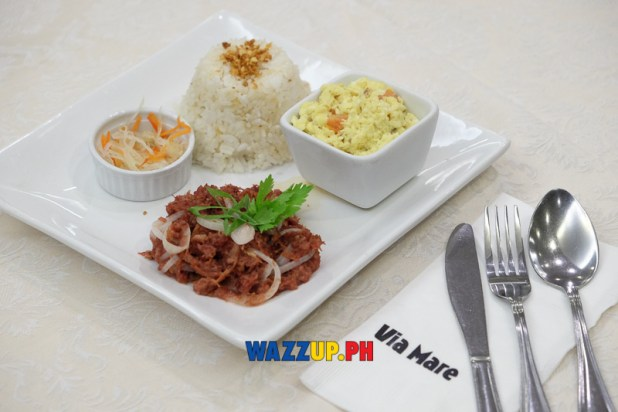 Corned Beef Saute Php 285 Via Mare at 40 Breakfast-8905