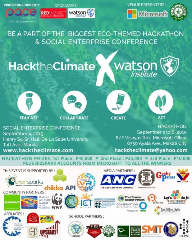 Hack the Climatex Watson