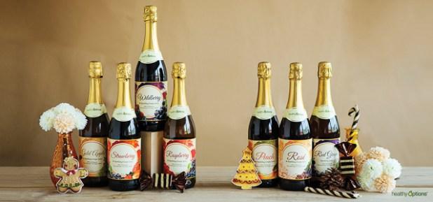 Health Options Nutcraker Christmas Gift Show-Sparkling juices