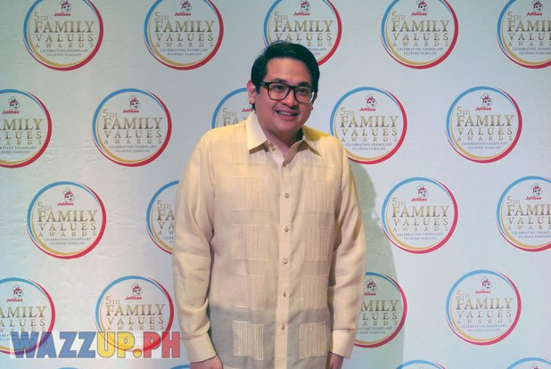 Jolibee 5th Family Values Award Philippines Joseph Tanbuntiong President Blog Blogger Duane Bacon Bam Aquino