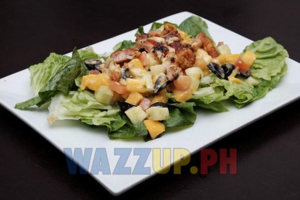 Mango Chicken Inasal Salad Reminisque Bistro Restaurant Bar Review-8129