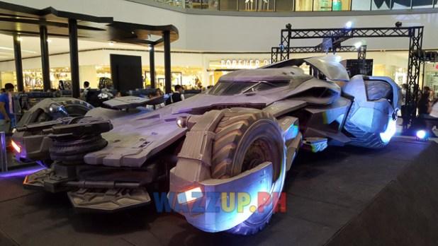 Batman v Superman Batmobile Movie Display SM North EDSA-202520