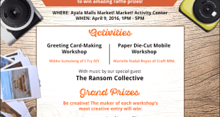 INSTAX  and CRAFTS APRIL 2016 MARKET MARKET
