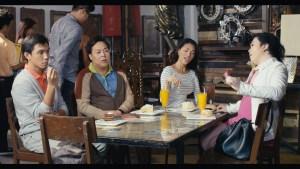 Kristoff (Lapus) with his super friends played by Nico Antonio- Bekimon- and Francine Garcia