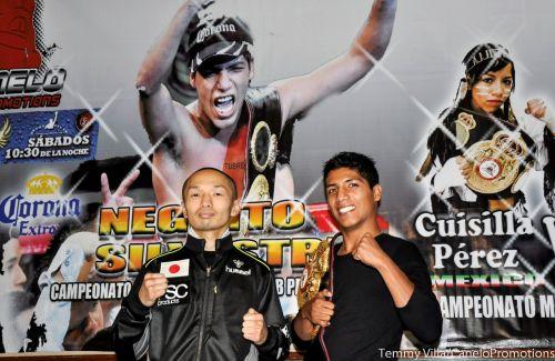 Jesus Silvestre probara a su rival japones que es un campeon solido