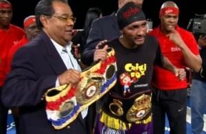 Anselmo Moreno WBA Super bantamweight champion