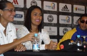 Ogleidis Suárez - Calista Silgado Press Conference
