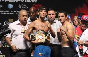 Johan Perez - Mauricio Herrera Weigh-in Photos