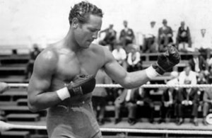 Max Baer Heavyweight Boxing Champion Training, 1933.