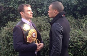 Photos: Eubank, Chudinov Go Face To Face in London