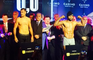 Sergey Kovalev - Jean Pascal weigh-in