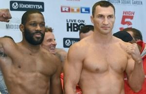 Wladimir Klitschko - Bryant Jennings weighin. Potos Naoki Fukuda