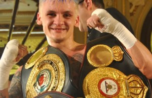 Hekkie Budler WBA Mini Flyweight Champion. Photo Golden Gloves